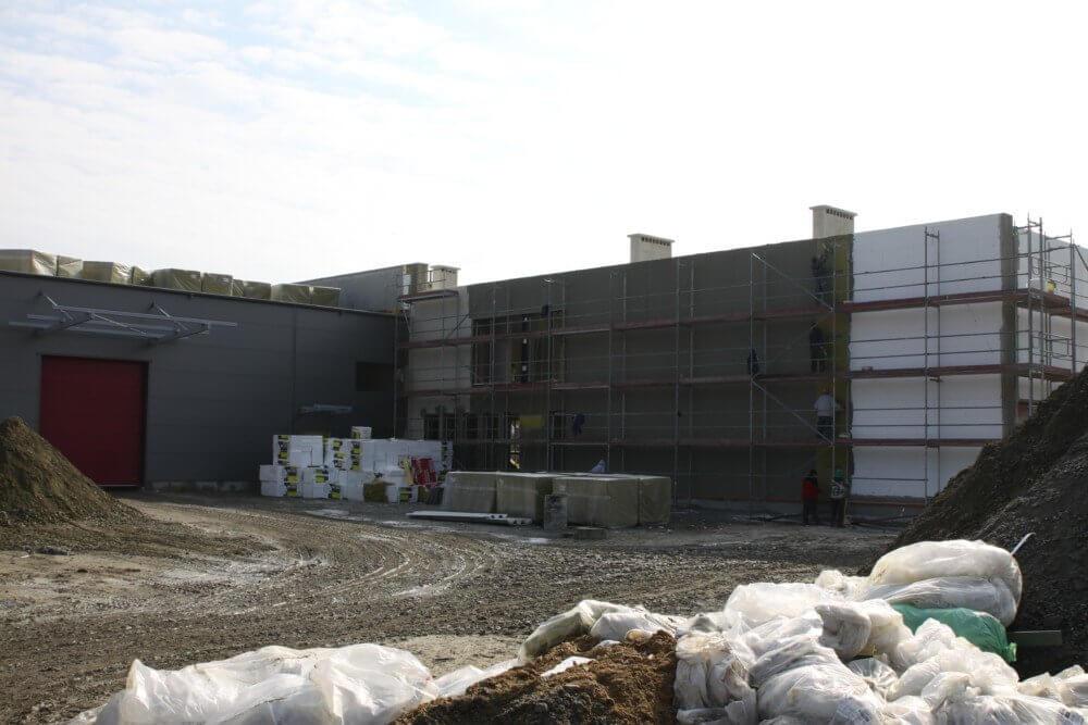 Budowa drugiej hali produkcyjnej firmy Franc Gardiner