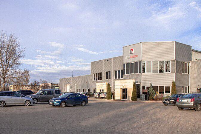 budynek firmy producenta rolet
